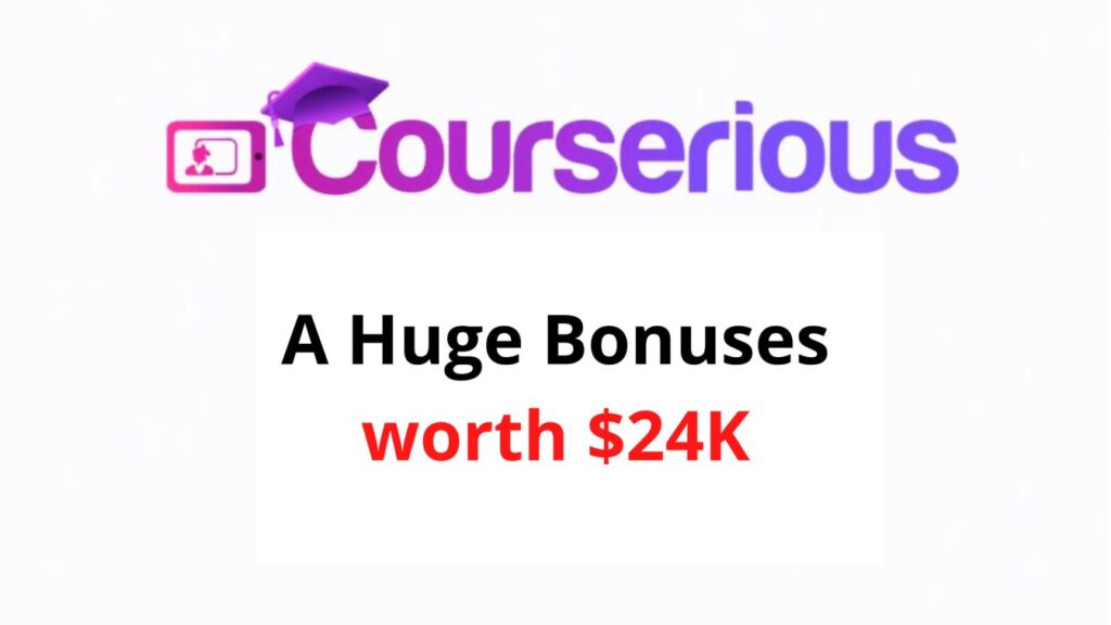 Courserious Review, Discount, Coupons, OTO details - All in One Pro Site Builder