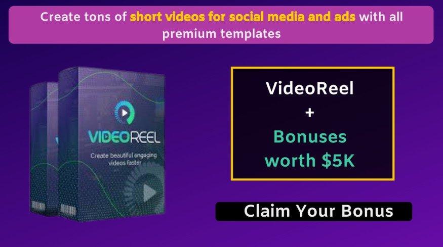 VideoReel Review + Exclusive Bonuses