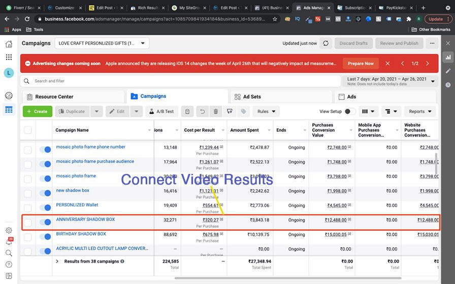 connectvideo results