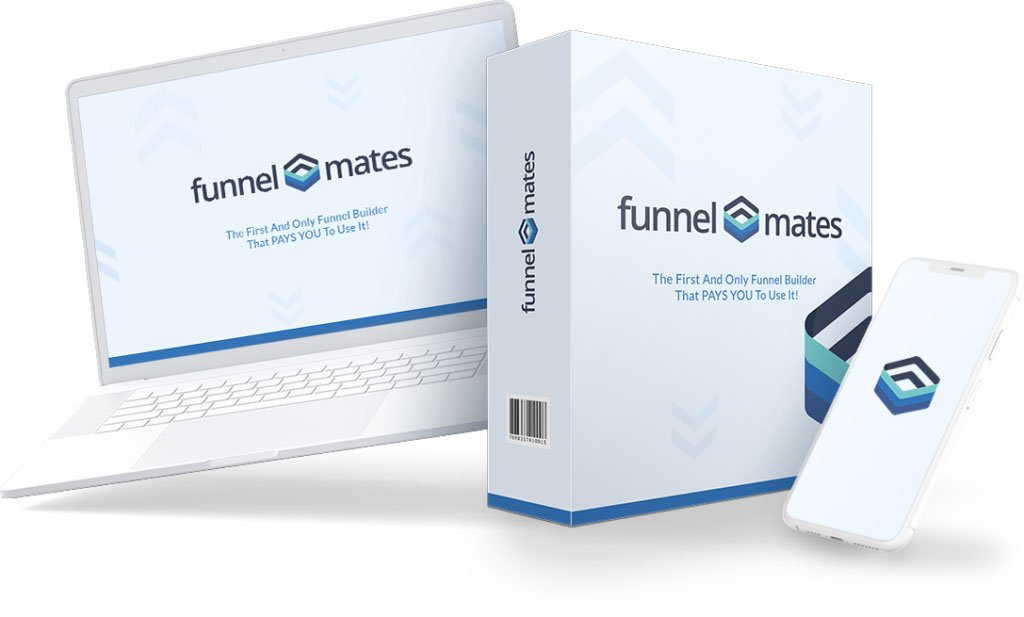 FunnelMates Review + $25K Huge Bonuses + OTO Details + Pros & Cons & Upgrades + Only Funnel Builder That PAYS YOU To Use It