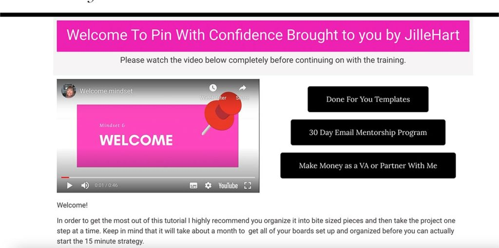 Pin With Confidence Review & OTOs